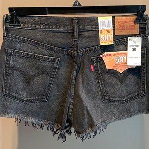 NWT - Levi's Denim Button-fly Shorts - 30
